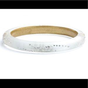 Alexis Bittar Lucite/ Diamond Dust Bracelet